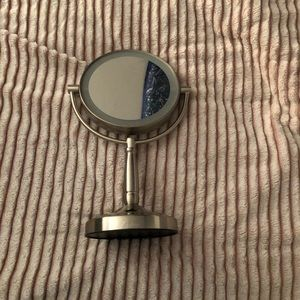 Other - Silver Makeup Mirror